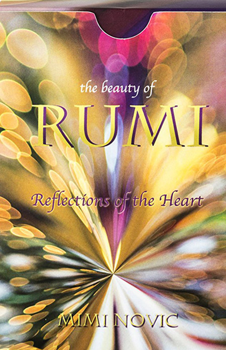 The Beauty Of RUMI Affirmation Cards by Mimi Novic